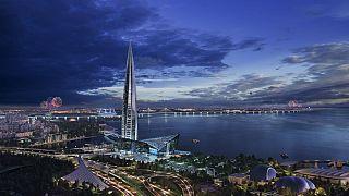 Rekord-Wolkenkratzer in Russland: Hoch, höher, Gazprom