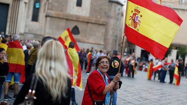 Os catalães que recusam o separatismo