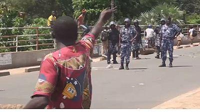 Manifestations sous tention au Togo