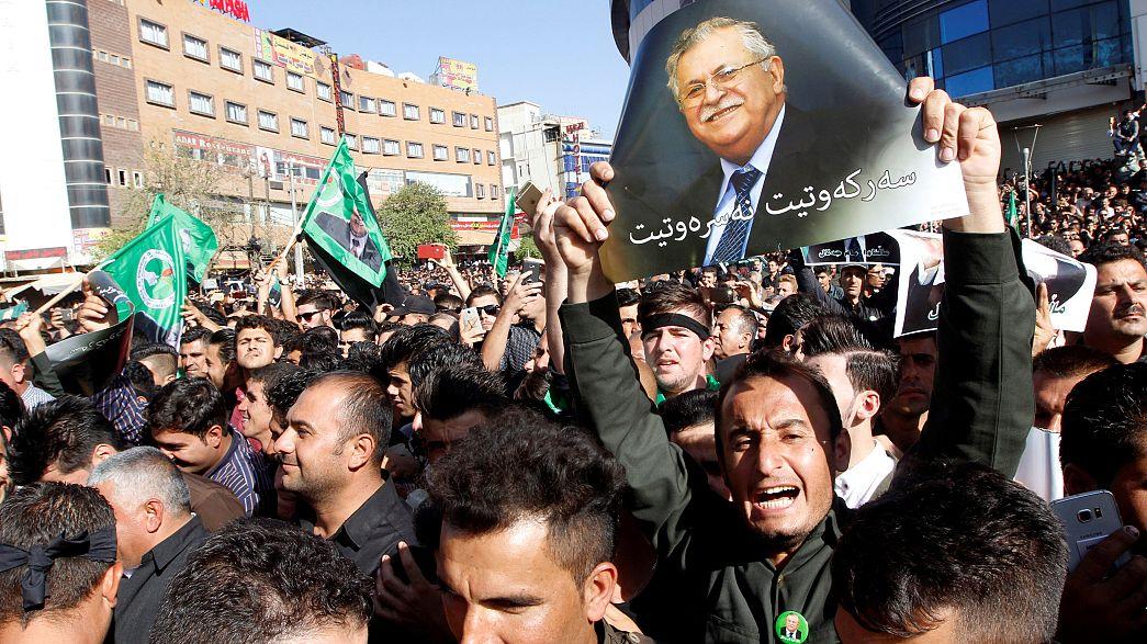 Luto en el kurdistán por la muerte de Yalal Talabani