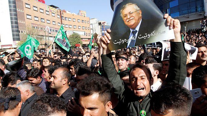 Iraq: Thousands bid last farewell to ex-President Talabani