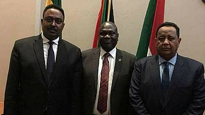Ethiopia and Sudan top diplomats meet exiled South Sudan VP Machar