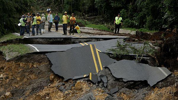 طوفان «نیت» بسوی آمریکا پیش می رود