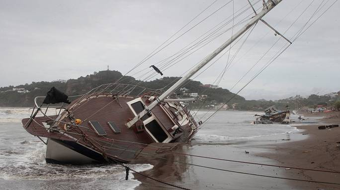 L'uragano Nate verso gli Stati Uniti