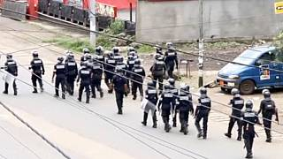 Cameroon army denies shooting at protesters from attack helicopters