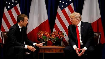 Trump discusses joint anti-terror operations in Africa with Macron