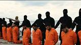 العثور على رفات واحد وعشرين قبطيا ذبحهم مسلحو داعش في ليبيا