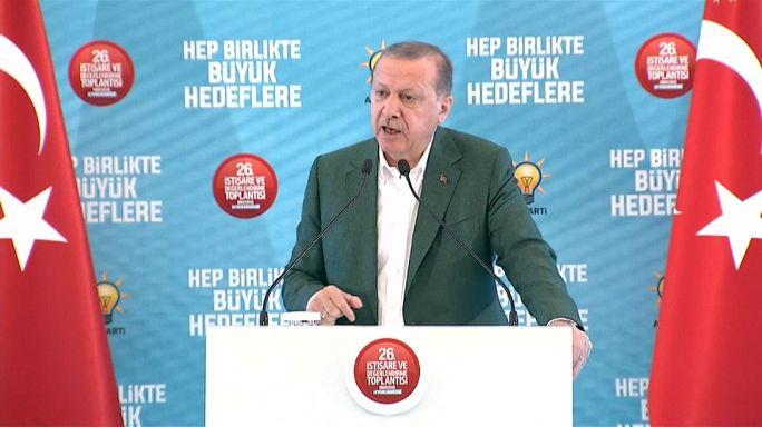 Erdoğan: İdlib'de ciddi bir harekat var ve devam edecek