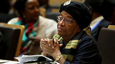 Ellen Johnson Sirleaf touts legacy as she prepares to step down