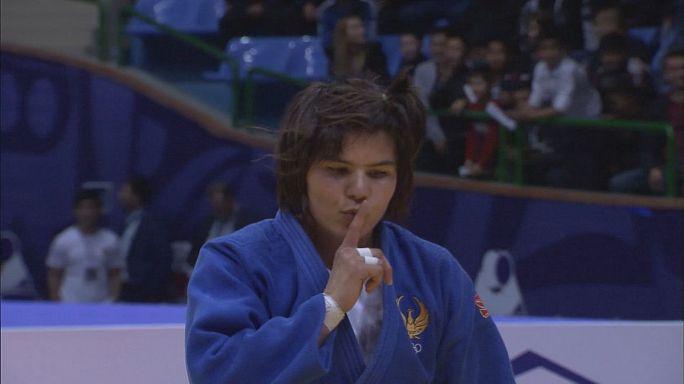 Judo: Matniyazova guarda o ouro em casa