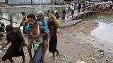 Jetzt über eine halbe Million Rohingya in Bangladesch