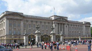 اعتقال إمرأة كانت تحاول تسلق بوابات قصر بكنجهام بلندن