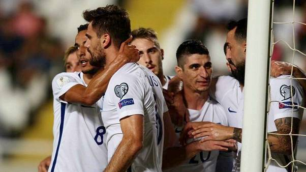 Προκριματικά Παγκοσμίου Κυπέλου: Κύπρος-Ελλάδα: 1-2