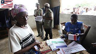 如何利比里亚选民将选出新总统,73名议员