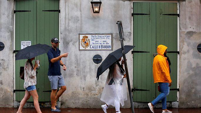 L'Uragano Nate ha toccato gli Stati Uniti