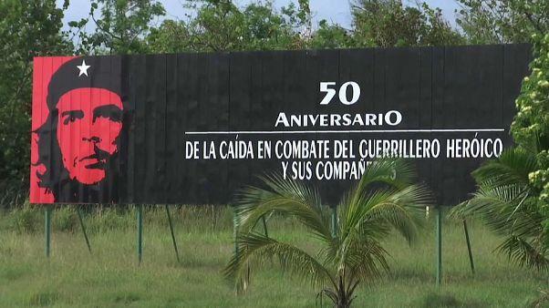 Cuba rinde homenaje al 'Che' Guevara medio siglo después de su muerte