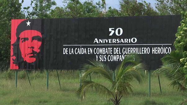 Cuba homenageia Che Guevara