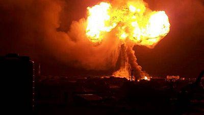 Un incendie et des explosions font trois morts dans des stations-service du Ghana