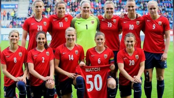 Norway men's football team takes pay cut so women's side earns the same