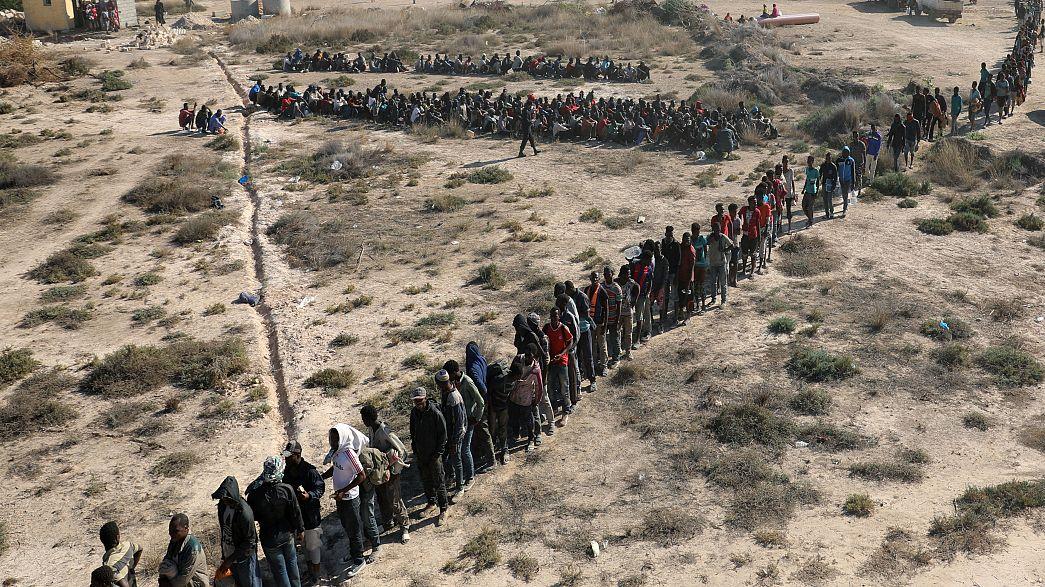Libya kıyılarında üç bin 150 kaçak göçmen yakalandı