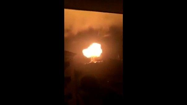 Gana'da doğalgaz istasyonunda patlama