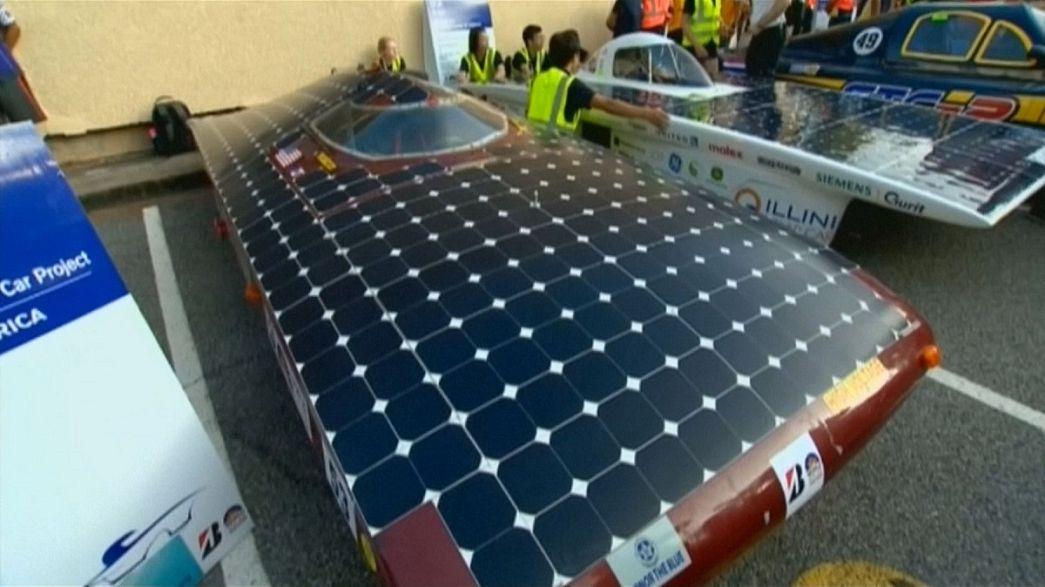 Comienza el World Solar Challenge, la carrera más ecológica