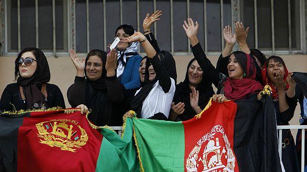 حضور زنان افغان در ورزشگاه ها پر رنگ تر می شود