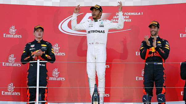 Big in Japan: Hamilton's win puts one hand on his fourth F1 world title