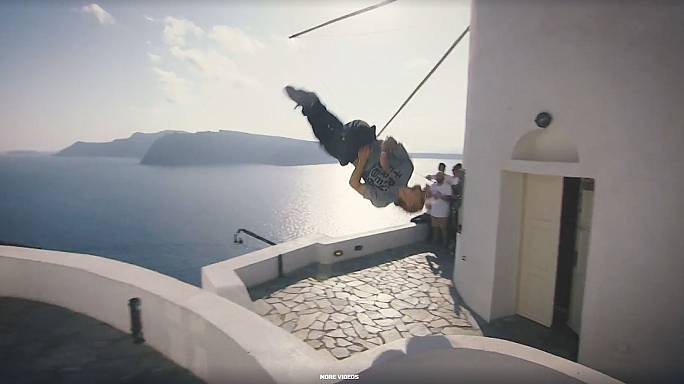 Unknown Ukranian wins top freerunning competition