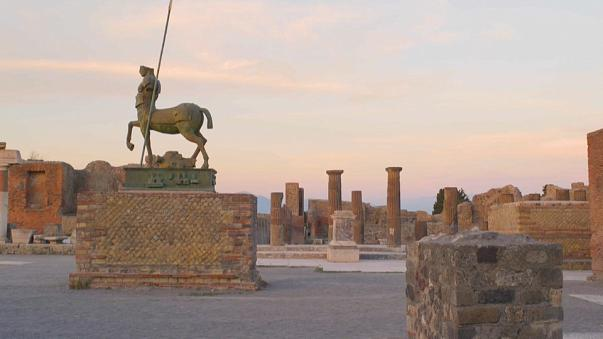 Antik şehir Pompei kiralanıyor