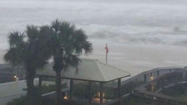 L'ouragan Nate frappe le Mississippi
