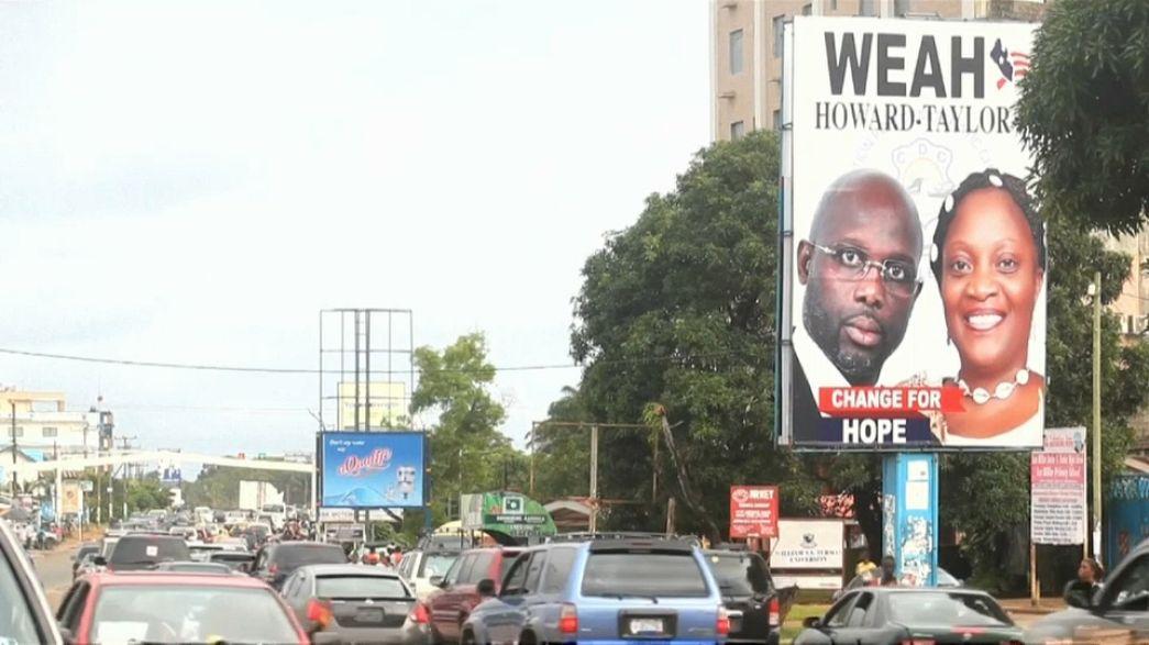 Liberia al voto, candidato anche Weah