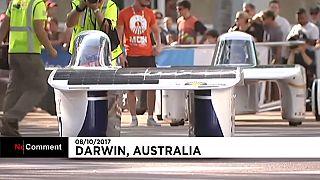 Стартовали гонки The World Solar Challenge