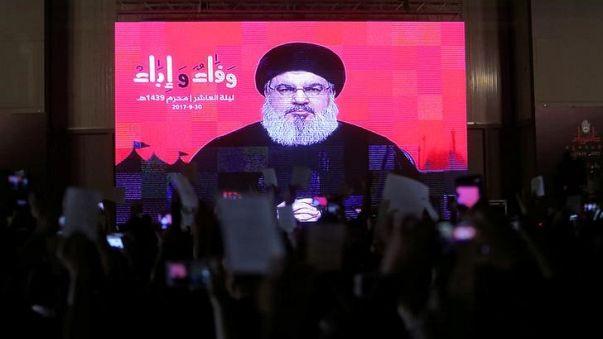 نصر الله يتهم واشنطن بدعم داعش في سوريا
