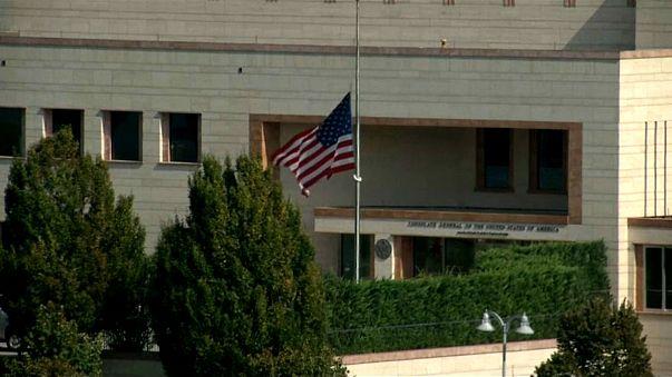 Embaixada americana na Turquia suspende serviço de vistos