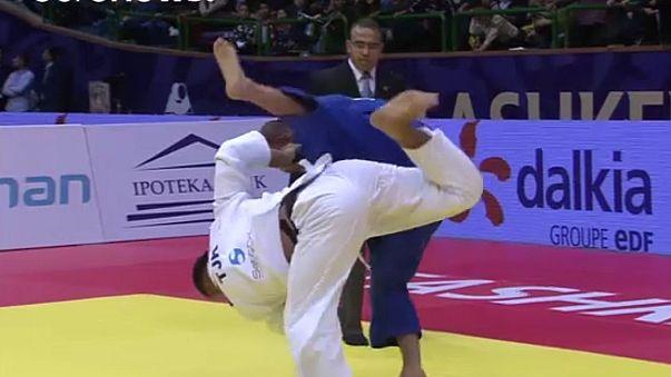 Judo: Or Sasson regressa e conquista ouro em Tashkent