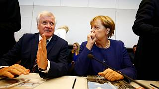 Merkel 'agrees' refugee cap with allies