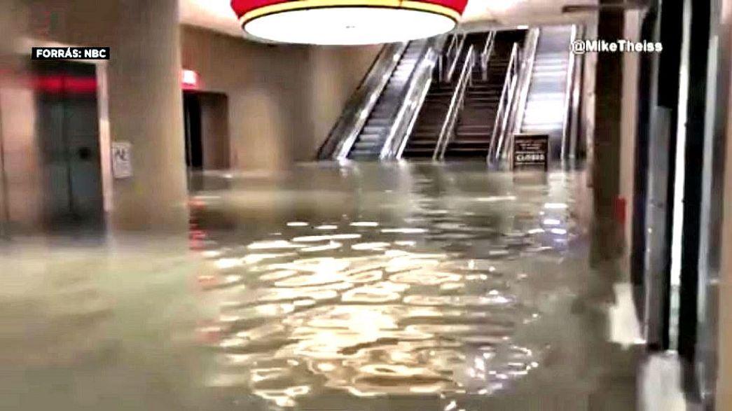 """Ураган """"Нейт"""" не вызвал крупных разрушений"""