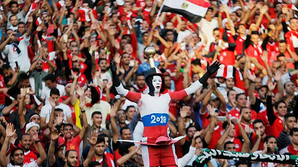 Egyptians celebrate the country's first World Cup qualification in 28 years