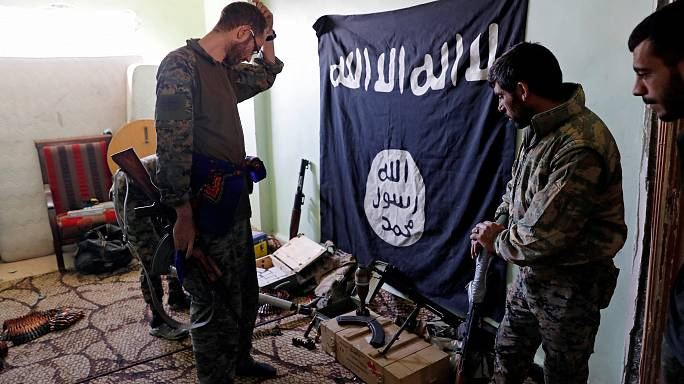 El grupo Estado Islámico ya solo controla un 15% de Raqa