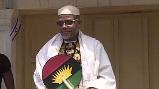 Nigeria army raids home of missing Biafra leader again