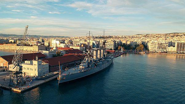 Το θρυλικό «Θωρηκτό Αβέρωφ» στη Θεσσαλονίκη