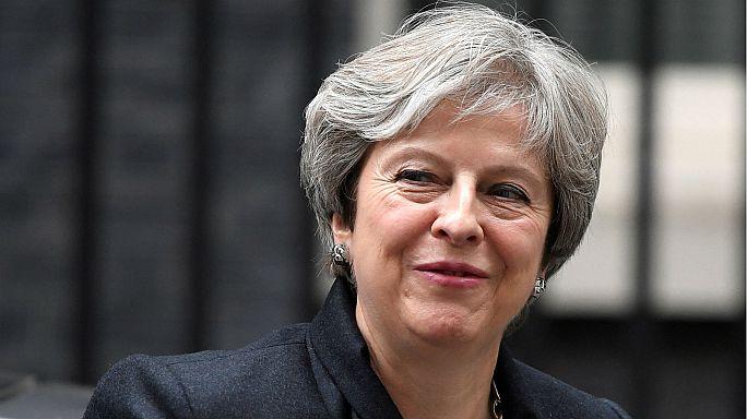 Vor neuer Brexit-Runde: Theresa May spricht im britischen Parlament