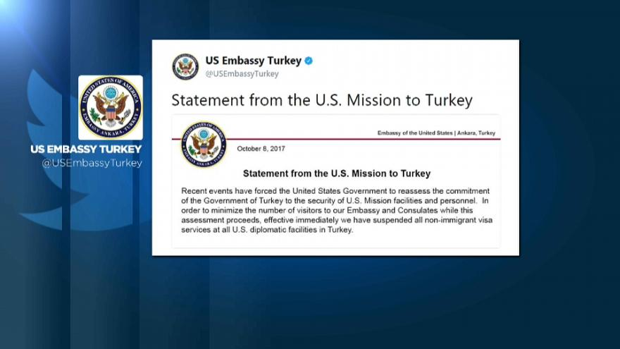 US-Turkey diplomatic row escalates