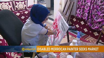 Morocco's 27 year old amputee painter [The Morning Call]