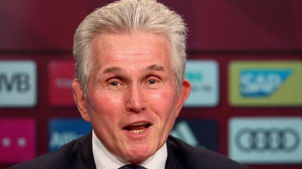 Jupp Heynckes: back at Bayern