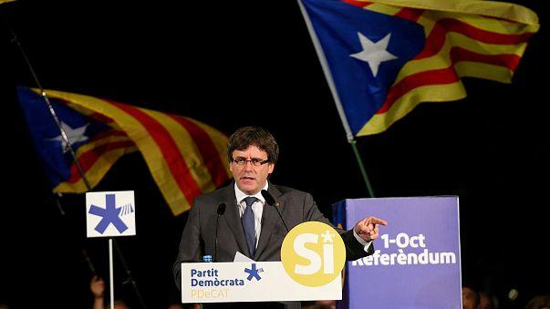 Puigdemont, a függetlenség szószólója