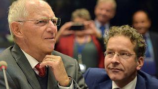Warme Worte von Euro-Finanzministern für Schäuble