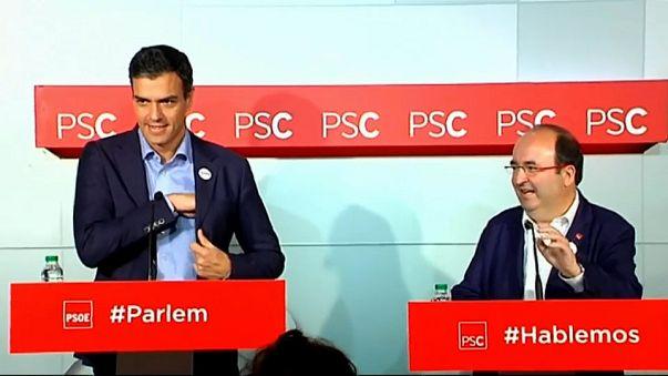Crisi catalana: il Partito socialista dà massimo appoggio a Madrid