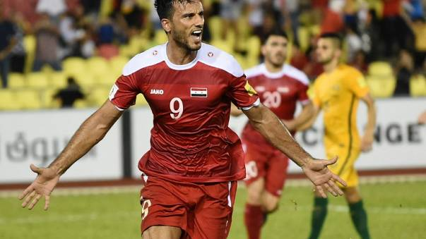 Siria sueña con la Copa del Mundo de fútbol Rusia 2018
